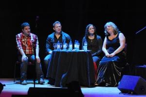 Ian, Damien, Lizzie and Niamh, 2010